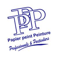 logo papier peint peinture
