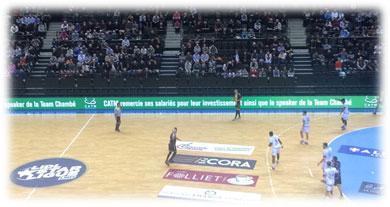 match handball Chambéry - Nantes