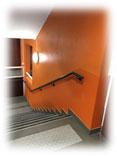 peinture couloir collège JOVET